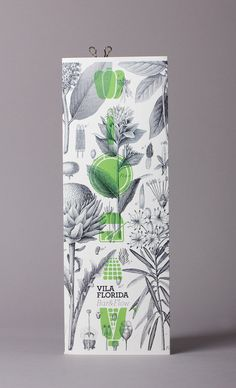 vila florida packaging.  design credit, lo siento studio, barcelona.