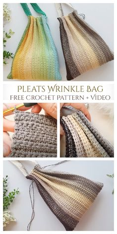 Free Crochet Bag, Crochet Market Bag, Crochet Gratis, Crochet Tote, Crochet Handbags, Crochet Purses, Crochet Stitches, Crochet Patterns, Crochet Coin Purse