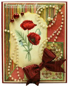 Crafting with Darsie: Poppies...