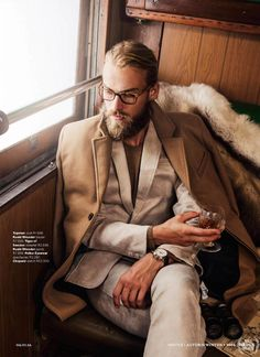 Editorial por Neil Kirk para GQ Style South Africa No. 9