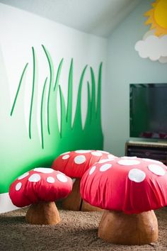 Green Inspirations room kid | Find more green inspirations that will look perfect in kids' bedrooms. Discover this trend at CIRCU.NET