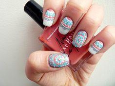 Delicate Doilie Nails