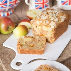 An easy to make traditional Dorset Apple Cake packed with fresh Bramley apples. If you cannot get Bramley apples you can make this cake with eating apples. Apple Cake Recipes, Homemade Cake Recipes, Family Cake, Cake Tray, Dried Apples, Food Plating, Tray Bakes, Cake Cookies, Catering