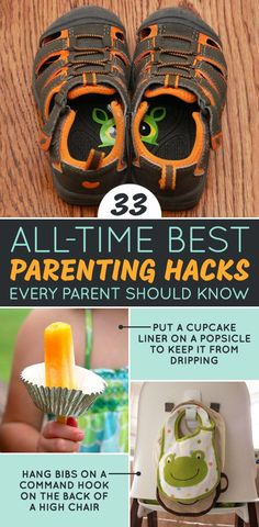 33 All-Time Best Parenting Hacks Every Parent Should Know | some of this stuff is totally genius.