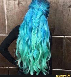 Very aquatic hair due, very cute!!!