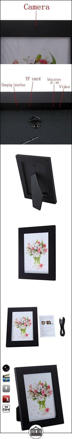 Mengshen® Marco de estilo nuevo hogar Foto cámara oculta 1280 × 960 pixel Cámaras mini DVR video audio de AVI videocámara oculta (no incluye tarjeta de memoria) MS-HC19Black ✿ Vigilabebés - Seguridad ✿ ▬► Ver oferta: http://comprar.io/goto/B01CZVS78I