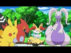 45 Best Pokémon X And Y English Subbed Full Hd Images Pokemon