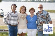 Sponsoring the Fellow Christian Athletes at Lake Weir, FL 2009 - Foundation Services of Central Florida, Ocala - http://SinkholePros.com - Pictured: 2 of the co-owners of Foundation Services: Robert & Belinda Stephenson and Carolyn & Bobby Hardin... A barefoot water ski exhibition by Tom Ingram and the Tampa Bay Water Ski Show team had the waters of Lake Weir moving. More information about FCA: www.midwestflfca.org