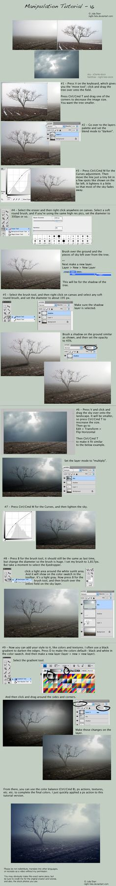 Nature Photoshop tutorial