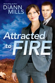 DiAnn Mills - Attracted to Fire / #awordfromJoJo #CleanRomance #ChristianFiction #DiAnnMills