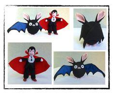 Bat and Vampire kit - 5 inch tall