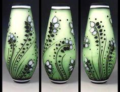 Lampwork glass focal beads by J.C. Herrell
