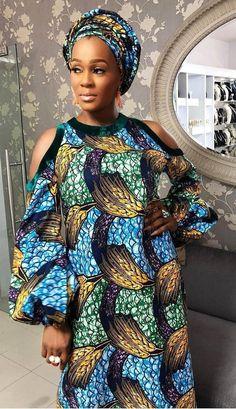 Lovely Ankara styles for the lovely ladies - DarlingNaija Ankara Dress Styles, African Fashion Ankara, Latest African Fashion Dresses, African Dresses For Women, African Print Fashion, Africa Fashion, African Attire, Ankara Gowns, African Prints