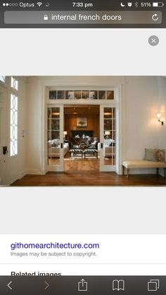 We are doing a lot of pocket doors in our house.glass pocket doors would be great for the piano room and Greg's office French Pocket Doors, Glass Pocket Doors, Glass Doors, Leaded Glass, Transom Windows, Deco Design, My New Room, The Doors, Sliding Doors