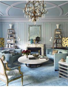 Eclectic Paris Apartment in Aqua