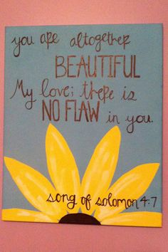 Bible Verse Canvas by CanvasCrafts13 on Etsy, $20.00