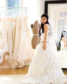 Foto Martha Higareda vestida de novia en Cásese Quien Pueda - CineDor