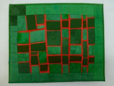 quilts und mehr: # 8 Linien / # 8 Lines Textiles, Quilting, Cushions, Modern, Art, Tiles, Simple Lines, Mosaics, Painting Art