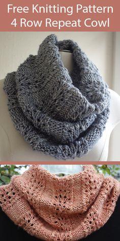Loom Knitting, Knitting Stitches, Knitting Patterns Free, Free Knitting, Knit Cowl Patterns, Knitting Tutorials, Knitting Machine, Lace Patterns, Vintage Knitting