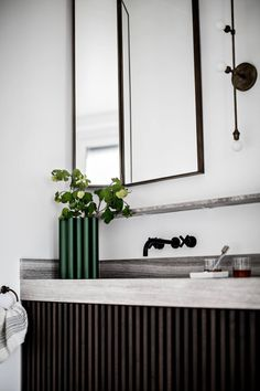 Tour a Beautiful Paris Apartment with Refined Details and Effortless Luxury - Nordic Design Plywood Furniture, Design Furniture, Luxury Home Decor, Luxury Homes, Diy Home Decor, Parisian Bathroom, Bathroom Interior, Rental Bathroom, House Doctor