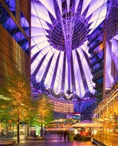 Sony Center - Potsdamer Platz, Berlin, Germany by Bas Meelker on 500px