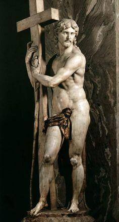 Michelangelo, Risen Christ, 1521