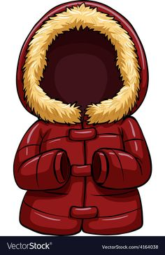 Red body warmer vector image on VectorStock Rainbow Cartoon, Baby Icon, Wooly Hats, Paper Dolls Printable, Body Warmer, Butterfly Art, Baby Outfits Newborn, Winter Theme, Early Education
