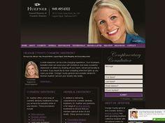 2007 Mar Com Award for Best Website Overall - Sensational Smiles (www.drhuefner.com)