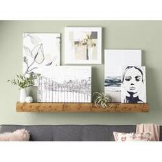 Three Posts Wadebridge Wood Floating Shelf Size: H x