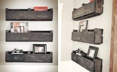 Shelves via Brit + Co.