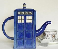 I found 'Doctor Who TARDIS Tea Pot' on Wish, check it out!