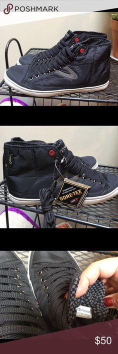 bbf8a5b670cb Black Tretorn GORETEX High Top Sneakers Waterproof Make these yours! Brand  new pair of Men s