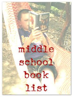 "Stuff and Nonsense: Middle School Book List. This list could seriously come in handy for any middle school teacher. Although many are too ""young"" for middle schoolers, in my opinion. Middle School Book List, Middle School Libraries, Middle School Reading, Middle School English, Middle School Teachers, Def Not, Teaching Reading, Reading Lists, Teaching Ideas"