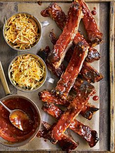 Serve these sticky marmalade pork ribs as part of an American feast with slaw and corn on the cob.