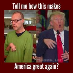 Trump mocking a journalist with a disability. So I just had to look this up, because no one running for the White House could be this big of an ass. Well Trump is definitely an ASS!