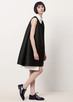 Issey Miyake PLEATS PLEASE Light Bounce Dress (Black)