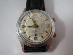 Vintage Helbros Manual Alarm Watch