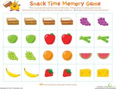 Free Fruit and Vegetable Word Puzzles from Imagine Our Life | Free ...