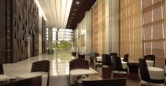 Wanda Guangzhou - lobby interior design on Behance