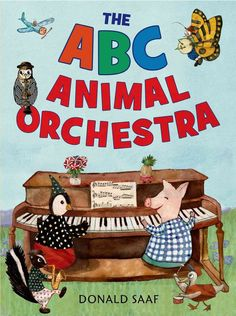 Preschoolers can learn their ABCs with this terrific alphabet primer. The fresh, alliterative text highlights the actions of the animals as they play their instruments from around the world. The expre