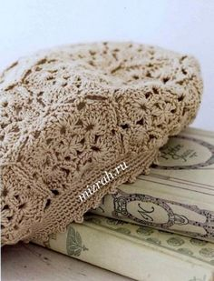 Hats Crochet Patterns Part 9 - Beautiful Crochet Patterns and Knitting Patterns Crochet Scarf Diagram, Crochet Beret, Crochet Cap, Crochet Motifs, Irish Crochet, Knitted Hats, Beau Crochet, Mode Crochet, Knitting Patterns
