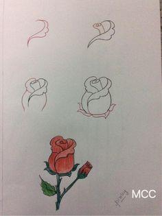 19+ Adım Adım Kolay Çiçek Çizme ,  #çiçekçizme #çiçeknasılçizilir #gülçizme…