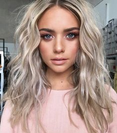 Super Ideas For Haircut Styles For Long Hair Layers Face Shapes Shoulder Length - Schulterlange Haare Ideen Haircuts For Long Hair, Girl Haircuts, Hairstyles With Bangs, Cool Hairstyles, Bridal Hairstyles, Blonde Haircuts, Formal Hairstyles, Medium Hair Cuts, Long Hair Cuts