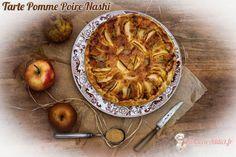 Souvent les pâtisseries que je réalise le weekend me sont inspirées par ce que je trouve au marché chez mon primeur préféré. J'y ai trouvé hier un fruit que vous connaissez peux être c'est le Nashi. Il s'agit d'un fruit qui ressemble à une pomme avec une peau de poire. C'est en effet un fruit issu d'Extrême orient qui est le croisement d'une pomme avec une poire. J'ai donc... #nashi #poire #pomme