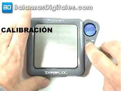 Balanza Digital Fuzion Diablo - Manual de uso y calibración -