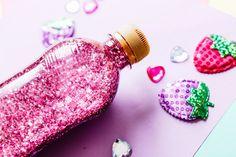 HELPPO GLITTERPULLO RAUHOITTUMISEN AVUKSI - LEIKKI LEIKKINÄ Glitter, Glow