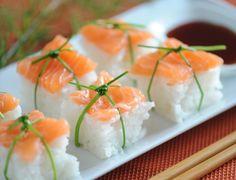 Sushis de Noël Voir la recette des Sushis de Noël