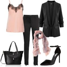 Outfit Elegante e sexy Sexy Work Outfit, Classy Work Outfits, Elegant Outfit, Black Capris, Black Jeans Outfit, Summer Office Outfits, Winter Outfits, Outfits Primavera, Office Fashion