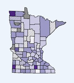"""Minnesota Department of Health's really interesting interactive mapping tool! This map is of: """"Cancer: Breast (female only)   2005 to 2009   0 - 49 Years, Age-adjusted Incidence Rates per 100,000."""" Why do Kittson, Pipestone, and Waseca counties have higher women's breast cancer rates for this age group?"""