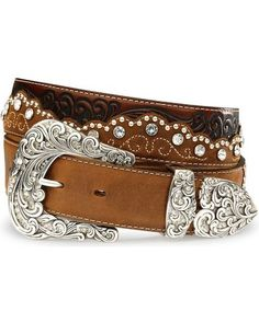 Tony Lama Kaitlyn Crystal Leather Western Belt - Sheplers on Wanelo Cowgirl Belts, Cowgirl Chic, Cowgirl Bling, Western Belts, Cowgirl Style, Western Wear, Cowboy Boots, Cowgirl Clothing, Western Belt Buckles